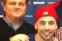 """Squints And Ham From """"The Sandlot"""" Reunited At A Twins Game"""