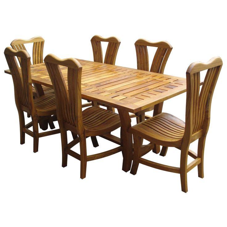 Teak Outdoor Furniture Sets 001