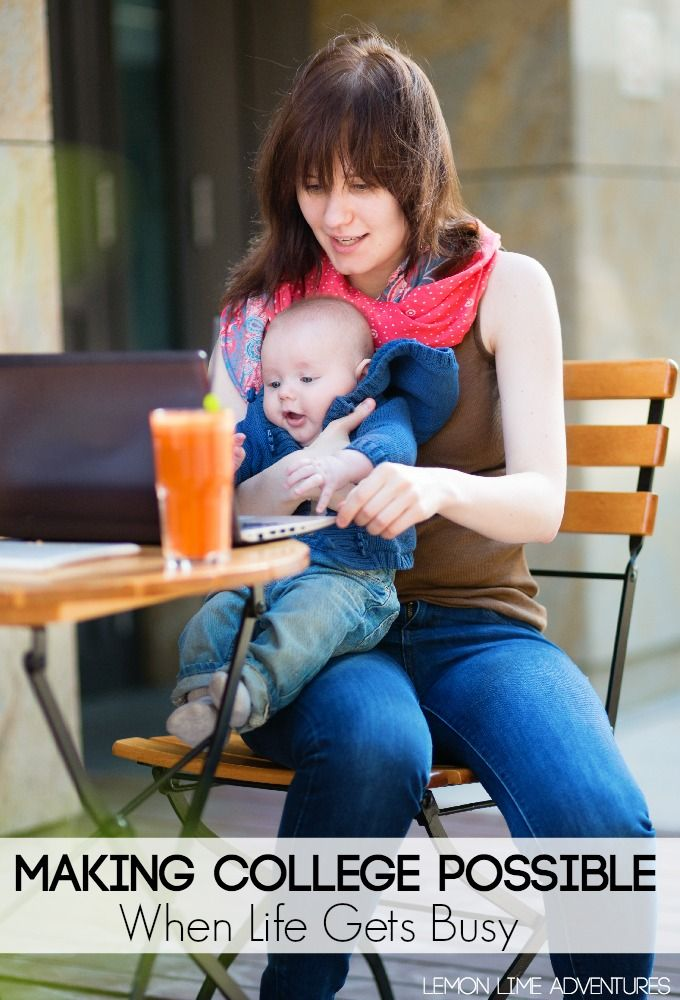 Making College Possible when Life is Busy | Love this message for busy moms! #sp #WGU