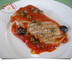 Ventresca de atún en salsa de alcaparras | Platos Plis PlasPlatos Plis Plas