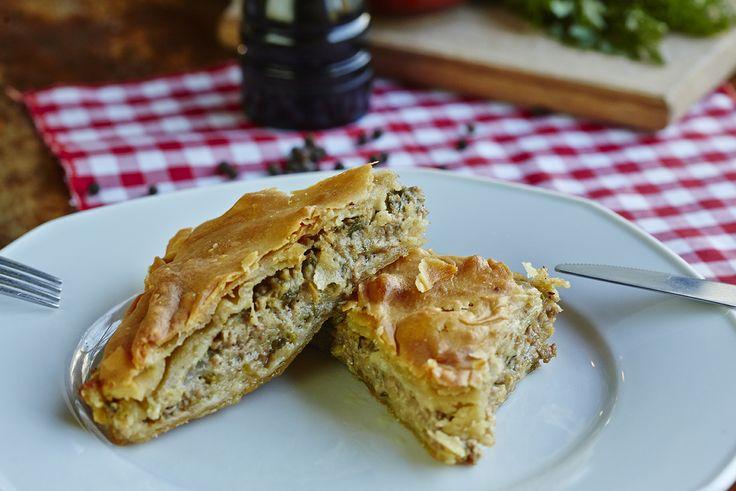 Κιμαδόπιτα | Meat pie