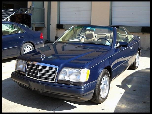 1995 Mercedes-Benz E320 Convertible