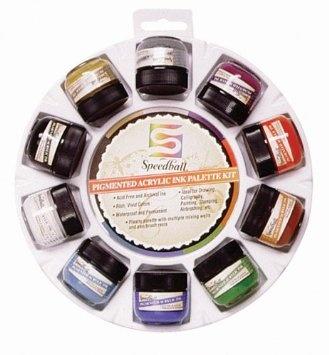 Speedball Calligraphy Ink Palette Kit: Speedbal Calligraphy, Art Crafts, Ink Palettes, Art Products, Acrylics Ink, Crafty Lady, Calligraphy Ink, Art Supplies, Palettes Kits