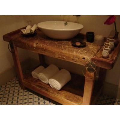 M s de 25 ideas incre bles sobre muebles r sticos en for Muebles madera montevideo