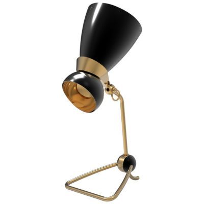 Amy Table Lamp by DelightFULL: Table Lamps, Unique Lamps, Delightfull Delightfulll, Brass Lighting, Amy Table