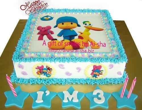 pocoyo - torta