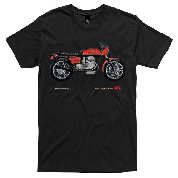 Men's Moto Guzzi Le Mans motorcycle t-shirt