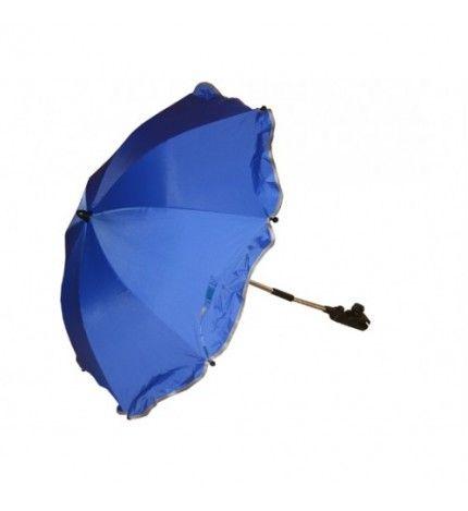 Parasolka do wózka z filtrem UV Kees niebieski