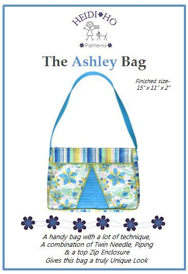 A handy size satchel bag embellished with fancy stitching & piping.