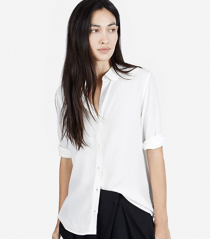 6 All-White Outfits When It's Too Hot for Anything Else via @WhoWhatWear