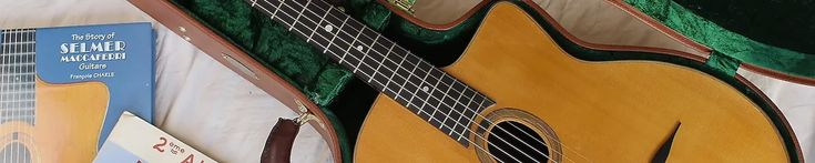 Selmer and Maccaferri Guitars: The Instruments That Defined Jazz Manouche via Reverb.com