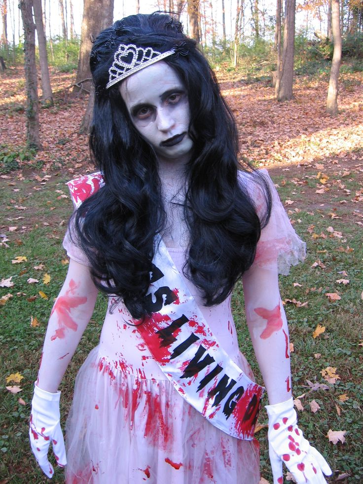 Homemade Zombie Halloween Costumes For Girls-2085