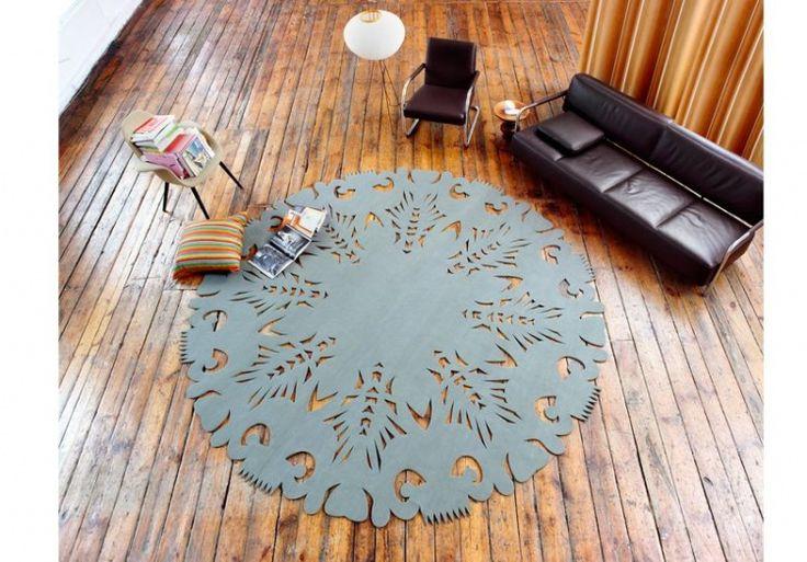 Carpet inspired by Polish folk art. By: MOHO Design  #design #poland #polska