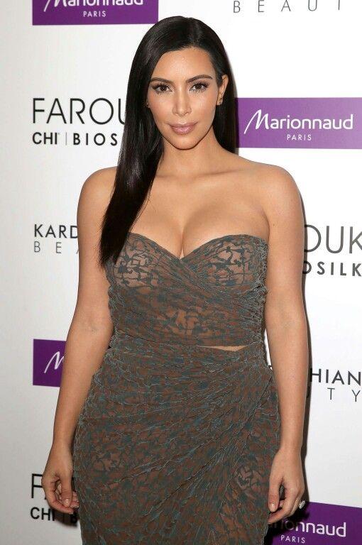Kim Kardashian in strapless Lanvin at the 2014 Met Gala