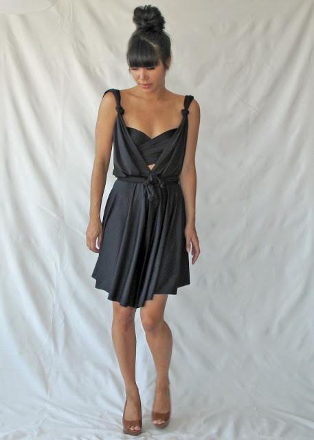 Convertible Romper Dress Pattern. Now that I've got an infinity dress...