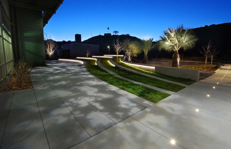 7 best under bench light images on pinterest exterior for Outdoor lighting concepts