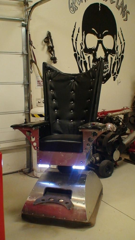 Dr Evils PIMPed Out Chair