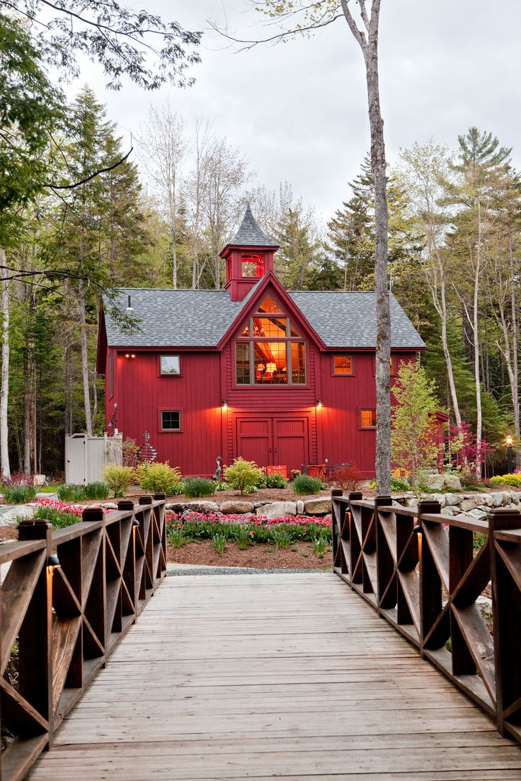 13 best cozy timber homes images on pinterest log cabins timber this new hampshire carriage house patterned after new england barns offers thoroughly contemporary performance photo