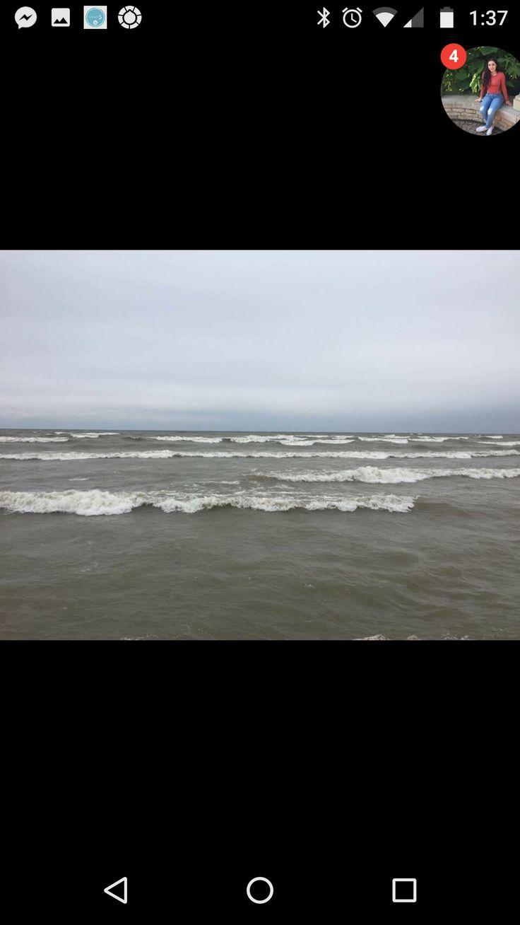 Lake Michigan  Manitowoc Wisconsin