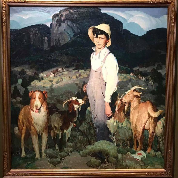 Buck Dutton - New Mexico Goat Herder, 1926
