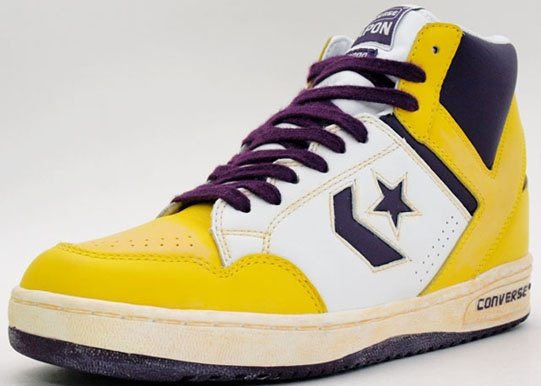 converse weapon retro lakers