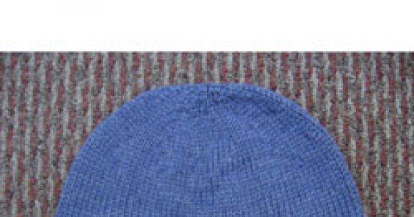 Le bonnet tricoté en laine