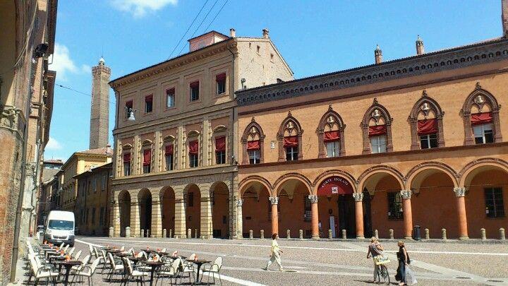 Piazza Santo Stefano in Bologna, Emilia-Romagna