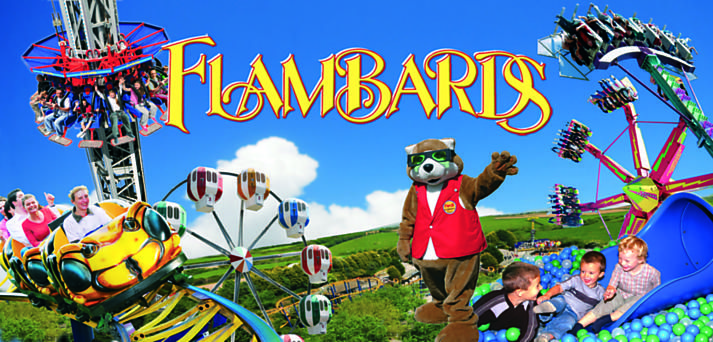 Image result for cornwall flambards logo