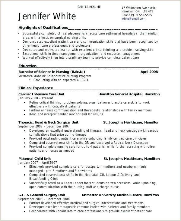 Cv Format For Fresher Nurses Downloadable Resume Template Nursing Resume Template Sample Resume