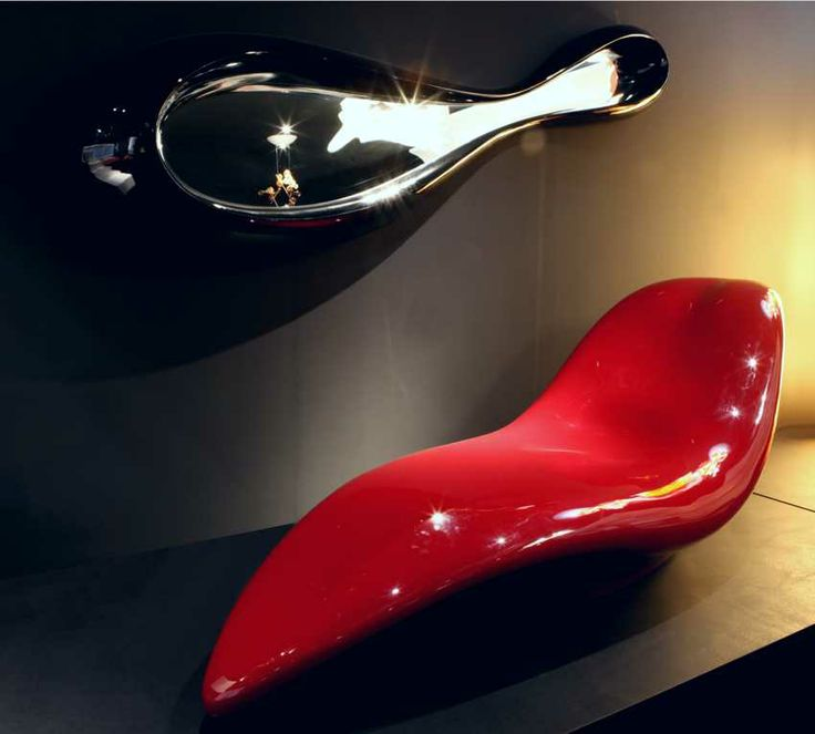 chaise longue GHOST+ mirror WOW