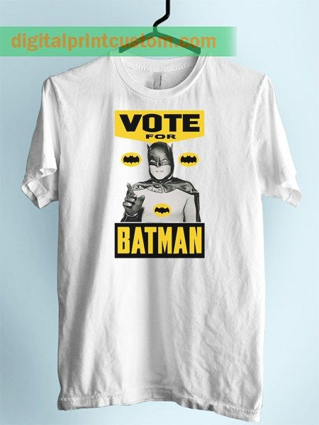 Vote For Batman Unisex Adult T Shirt