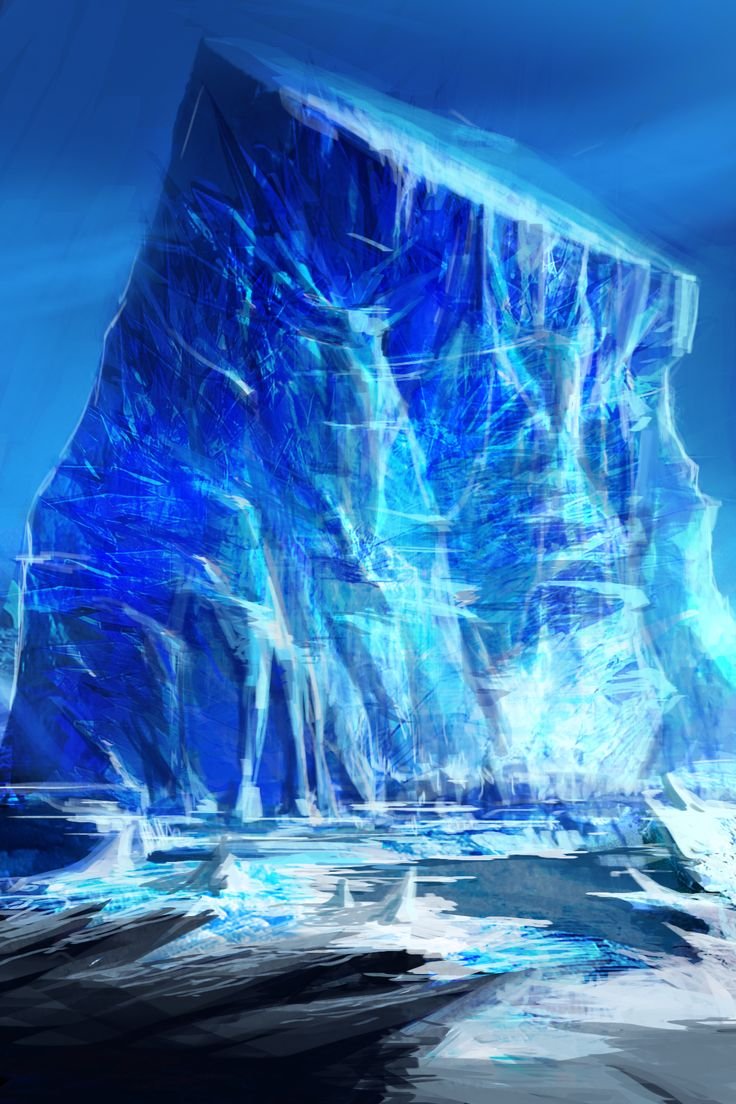ice world concept
