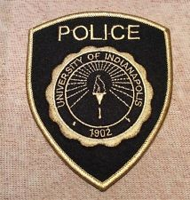 University of Indianapolis Indiana Police Patch