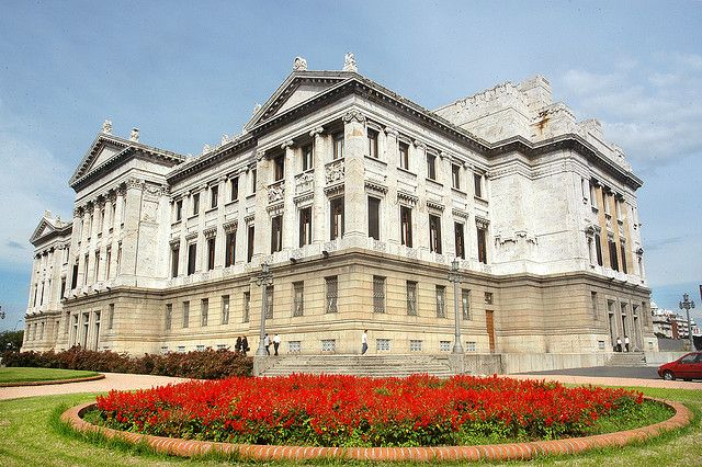 House of Congress (Palacio Legislativo), Montevideo. Built with 40 plus varieties of marble.