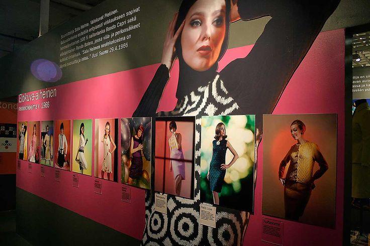Villasta vaatteeksi – exhibition design.  Intro Design.