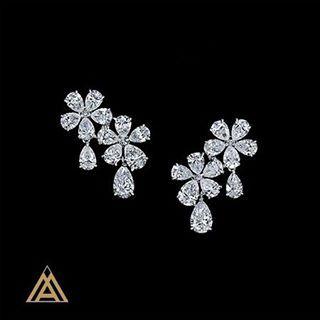 MAXIMILIAN LONDON HIGH JEWELLERY COLLECTION DIAMOND EARRINGS