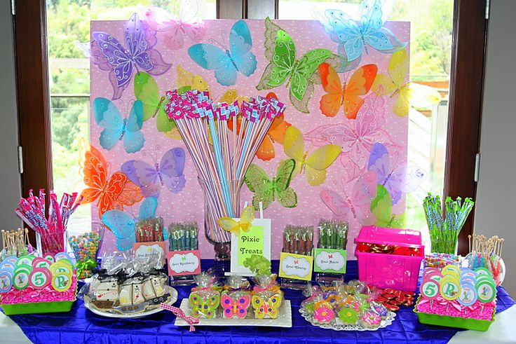 Pixie Sticks Neverland Party Birthday Parties