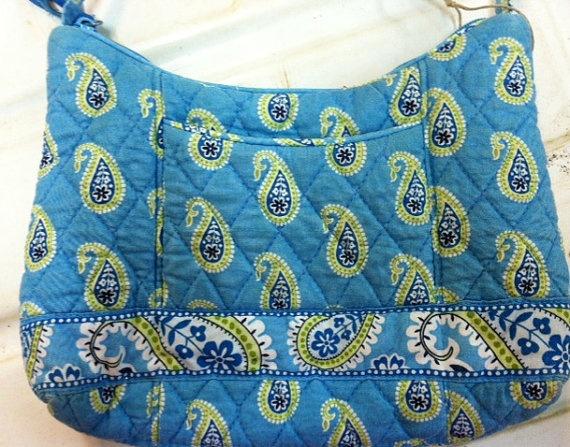 Vintage Vera Bradley Bermuda Blue by LincolnsGranny on Etsy, $29.95