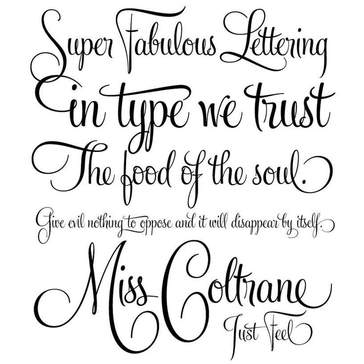 25 best hand lettering images on pinterest hand type letters and elegant handwriting font free fandeluxe Image collections