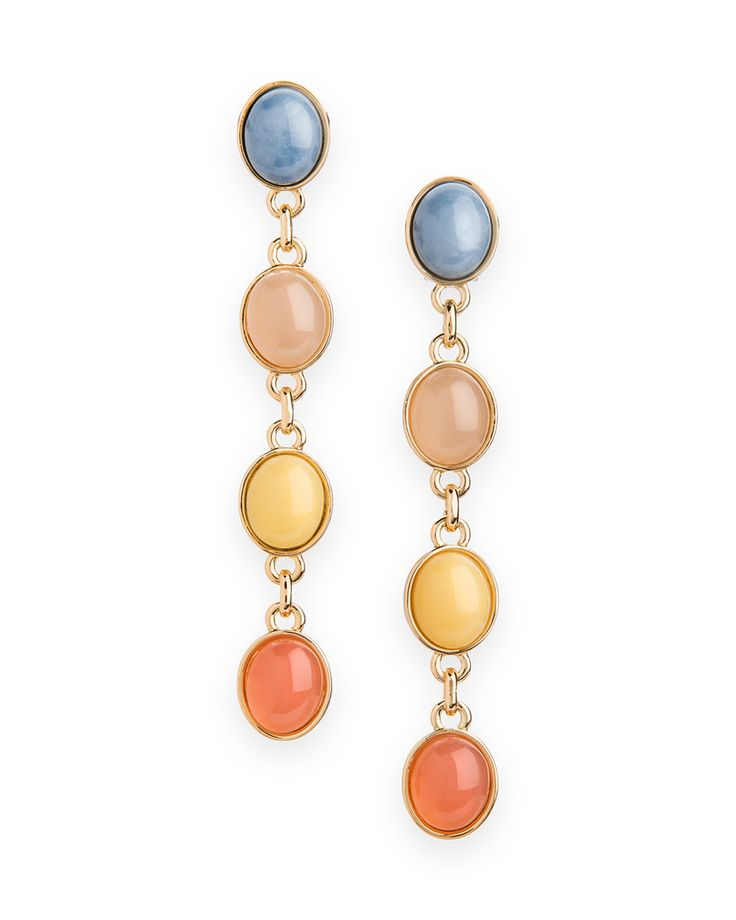 Jewel of the Nile Earrings. Love the colors!!!
