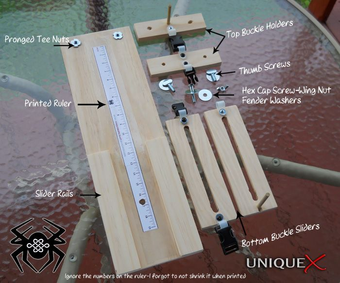 Inspiration: How to build a compact paracord jig   Need a router for this one  I need this