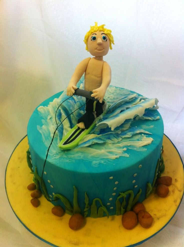 Wakeboard Birthday Cake Images