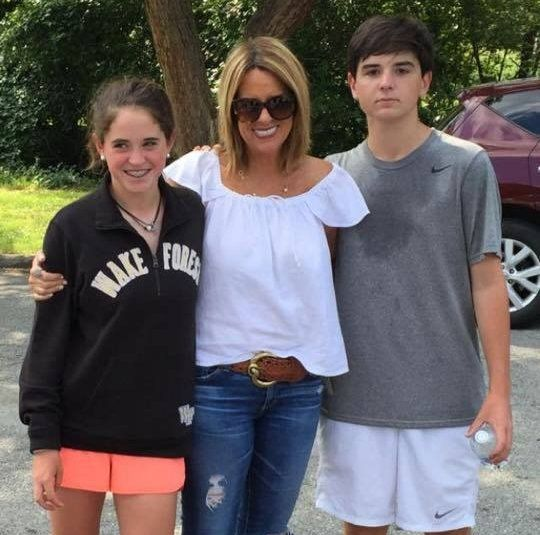 The Sean Hannity Family - Wife Jill and children Merri Kelly and Patrick