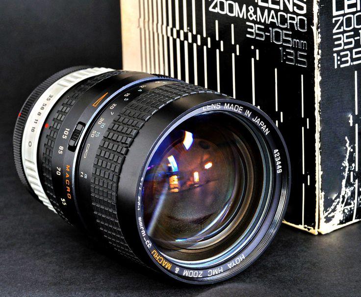 Canon fd 35105mm f35 macro zoom lens by hoya cosina