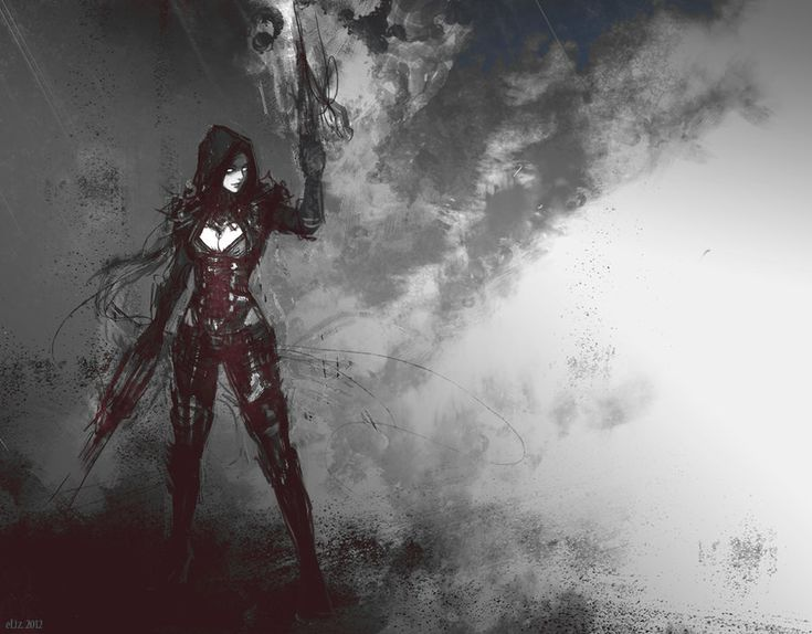 Demon hunter by eliz7 all the badass ladies are for Demon hunter