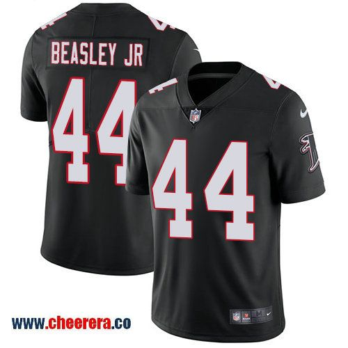 4c2574a9f ... Nike Atlanta Falcons 44 Vic Beasley Jr Black Alternate Mens Stitched NFL  Vapor Untouchable Limited ...