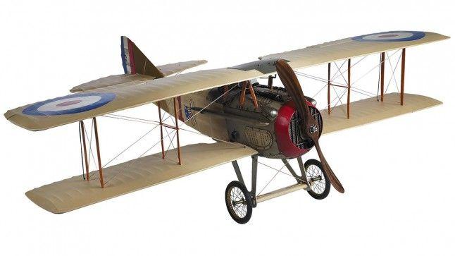 Miniatuur vliegtuig Spad XIII AP413
