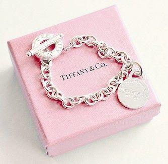 Pink Tiffany & Co box