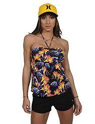 Το απόλυτο tropical floral μπλουζάκι