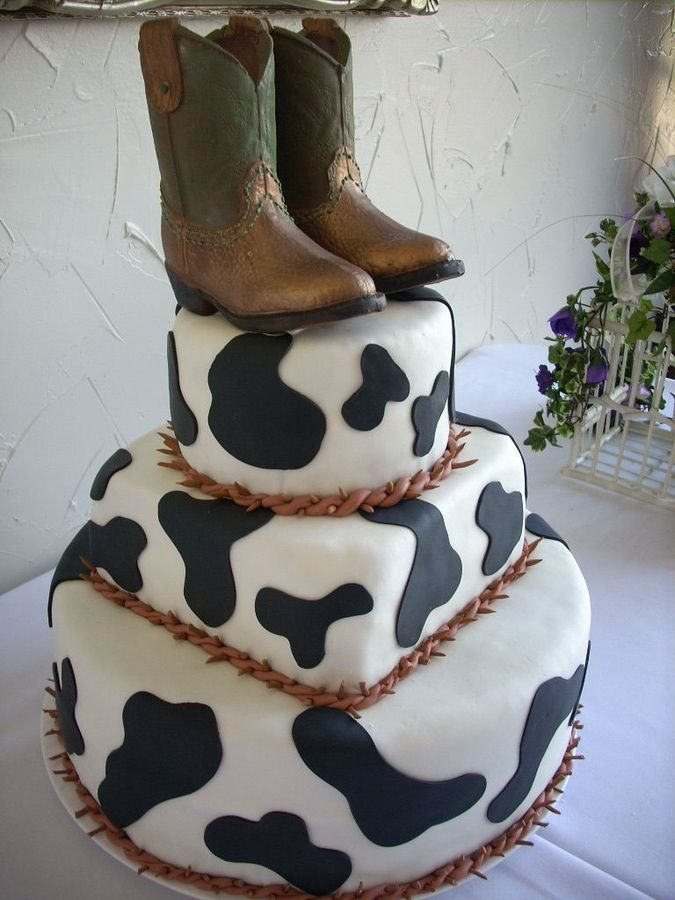 14 Best Images About Cowboy Boot Cakes On Pinterest